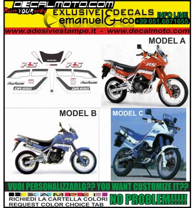 DR 650 RS 1990