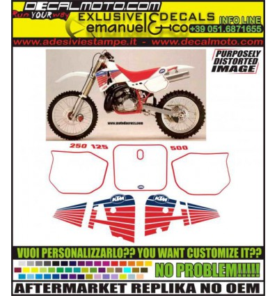 MX 125 250 300 500 1990