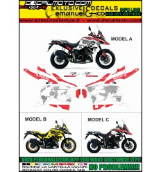 VSTROM DL 1000 2017 - WORLD + XT