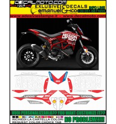 HYPERMOTARD 821 939 MOTO GP 2019 TRIBUTE REPLICA