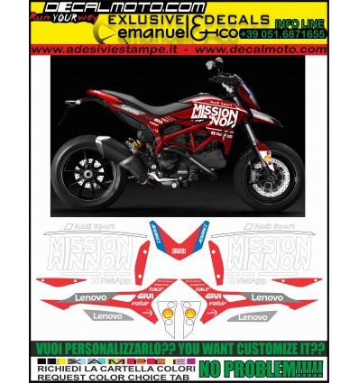 HYPERMOTARD 821 939 MOTO GP 2019 TRIBUTE REPLICA