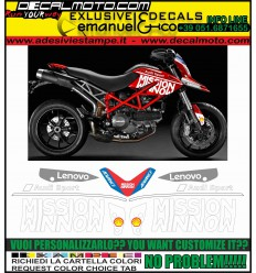 HYPERMOTARD 796 1100 MOTO GP 2019 TRIBUTE REPLICA