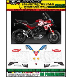 MULTISTRADA 1200 2010 - 2012 MOTO GP 2019 TRIBUTE REPLICA