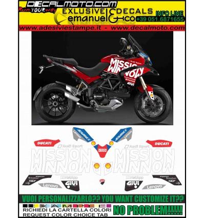 MULTISTRADA 1200 2010 - 2012 MOTO GP 2019 TRIBUTE REPLICA
