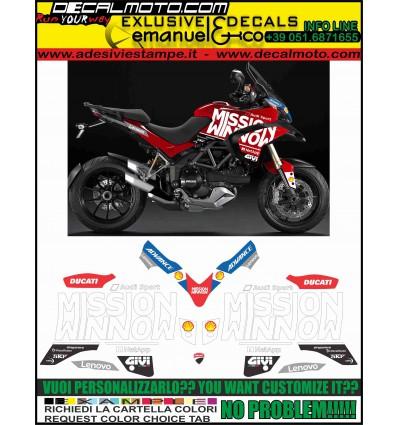 MULTISTRADA 1200 2013 - 2014 MOTO GP 2019 TRIBUTE REPLICA