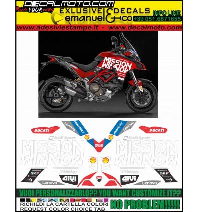 MULTISTRADA 1200 2015 - 2017 MOTO GP 2019 TRIBUTE REPLICA