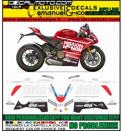 PANIGALE V4 MOTO GP 2019 TRIBUTE REPLICA