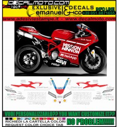 848 1098 1198 MOTO GP 2019 TRIBUTE REPLICA