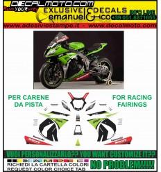 ZX-10 R NINJA 2011 - 2015 REPLICA SBK 2013 CARENE PISTA