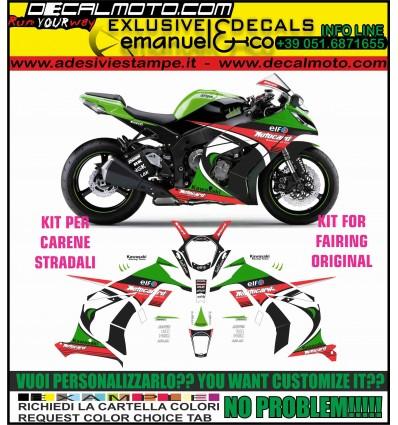 ZX 10 R NINJA 2011 - 2015 REPLICA SBK 2013 WORLD CHAMPIONS CARENE STRADALI