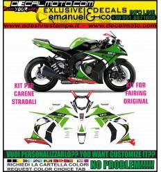 ZX 10 R NINJA 2011 - 2015 REPLICA SBK 2013 CARENE PISTA