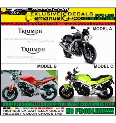 T509 SPEED TRIPLE 1997 1998