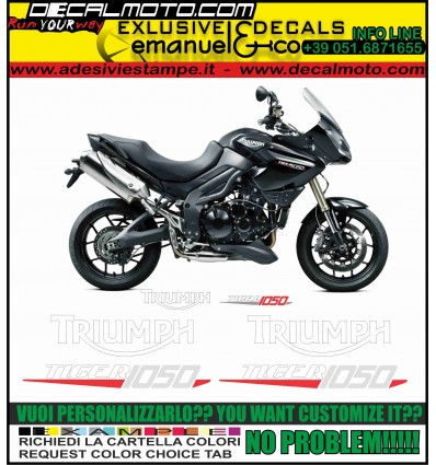 TIGER 1050 2012 2013