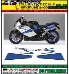 K1200 S 2007 2008 WHITE BLUE