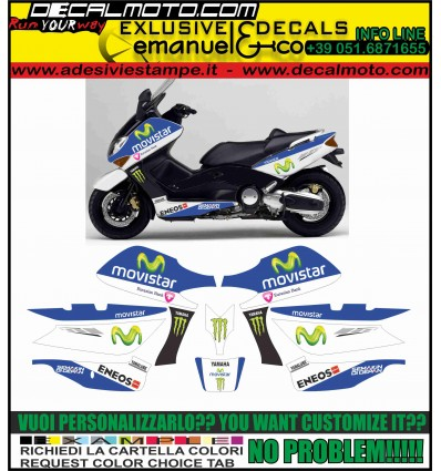 TMAX 2001 - 2007 M1 MOTO GP MOVISTAR