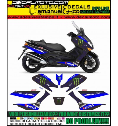 TMAX 2001 - 2007 REPLICA M1 MOTO GP 2019