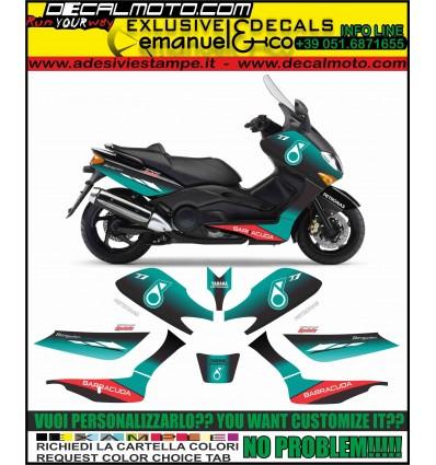 TMAX 2001 - 2007 REPLICA M1 MOTO GP 2019 PETRONAS