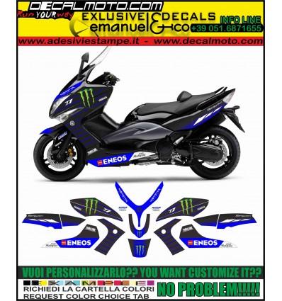 TMAX 2008 - 2011 REPLICA M1 MOTO GP 2019