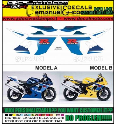 GSXR 600 2005 K5 BLUE YELLOW