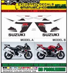 GSXR 600 2005 K5 RED BLACK