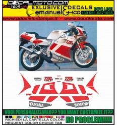 TZR 125 R 4DL 1991 BELGARDA WHITE