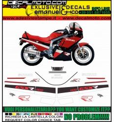 GSXR 1100 1988 RED BLACK