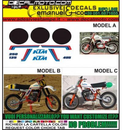 MX GS 125 250 495 1981