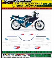 GSXR 1100 1988 WHITE BLUE