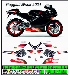 RS 125 2004 REPLICA POGGIALI BLACK