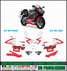 RS 250 2001 - 2002 DIABLO BLACK MELANDRI NO PAINT