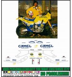 XT 750 Z SUPER TENERE REPLICA CAMEL GUALINI PARIS DAKAR 1992