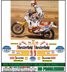 XT 750 Z SUPER TENERE REPLICA CHESTERFIELD PARIS DAKAR 1990