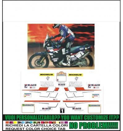 XT 750 Z SUPER TENERE REPLICA PETERHANSEL PARIS DAKAR 1998