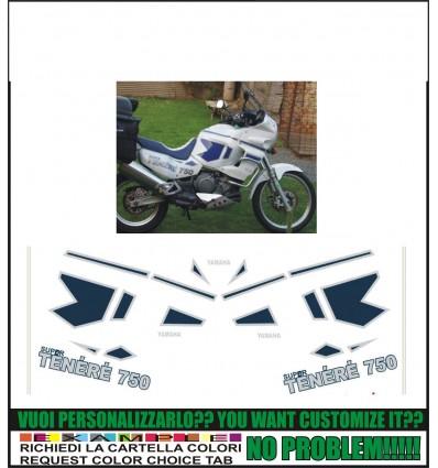 XT 750 Z SUPER TENERE 1991 WHITE
