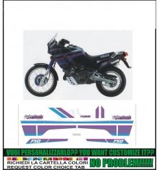 XT 750 Z SUPER TENERE 1991 BLACK
