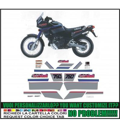 XT 750 Z SUPER TENERE 1990 BLACK