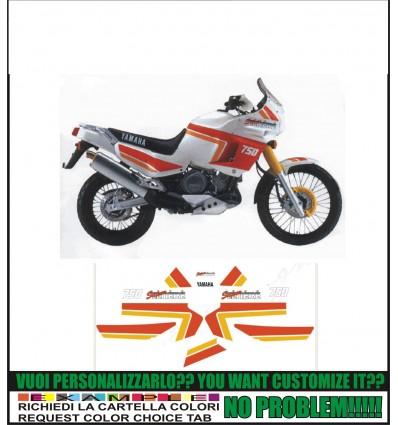 XT 750 Z SUPER TENERE 1989 WHITE RED