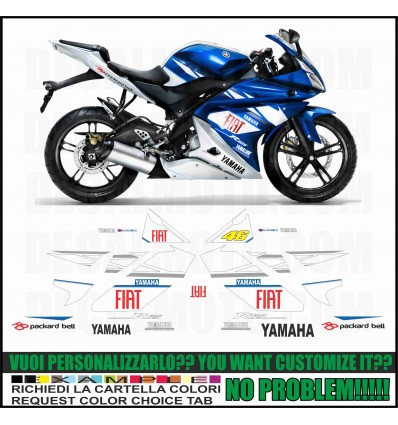 R125 MOTO GP FIAT
