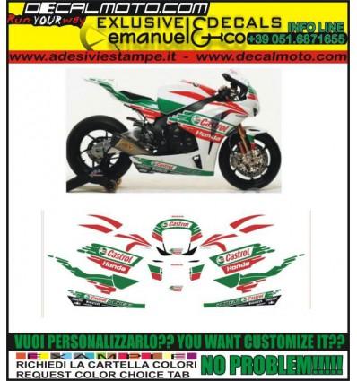 CBR REPLICA 600 1000 RR F CASTROL TEAM 2011