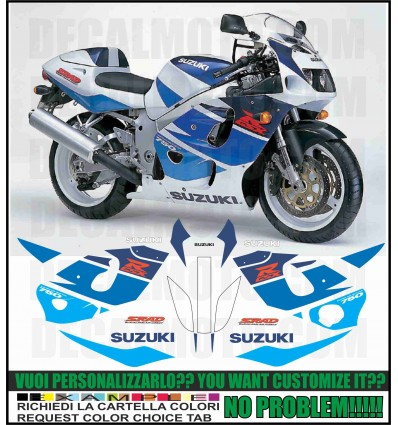 GSXR 750 1996 SRAD