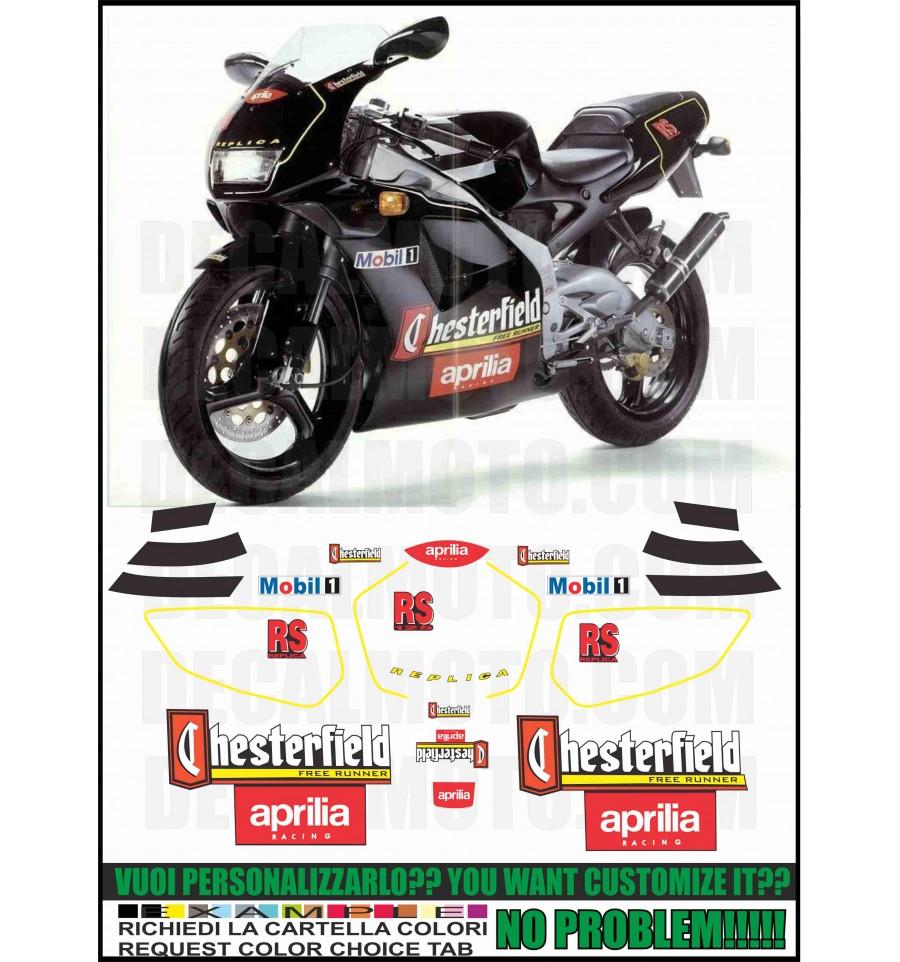 Kit adesivi decal stikers APRILIA RS 250 1994 REGGIANI
