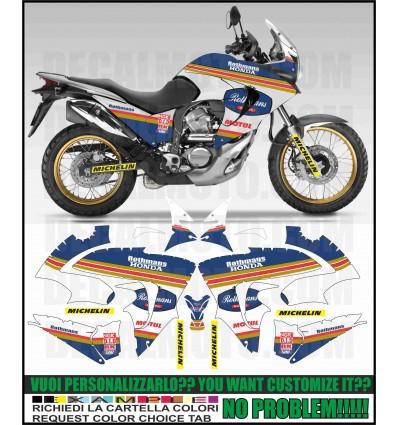 TRANSALP XL 700 V REPLICA ROTHMANS PARIS DAKAR