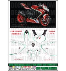 F3 675 800 2012 - 2017 REPLICA RC 2019