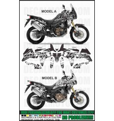 AFRICA TWIN CRF 1000 L SIGN TRICOLOR