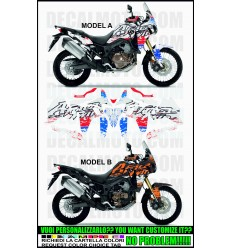 AFRICA TWIN CRF 1000 L SIGN OLDCOLOR