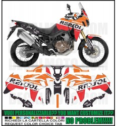 AFRICA TWIN CRF 1000 L REPSOL FULL COVER