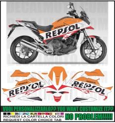 NC 750 X 2016 - 2020 repsol