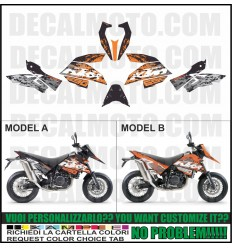 LC4 690 SUPERMOTO SM SMR 2007 - 2010 formanudesign