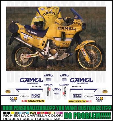 AFRICA TWIN XRV RD03 650 dakar 1991 camel