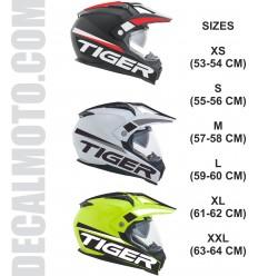 helmet TIGER.en enduro